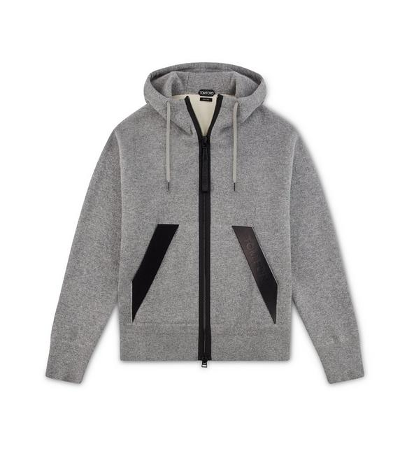 DOUBLE FACE CASHMERE HOODIE A fullsize