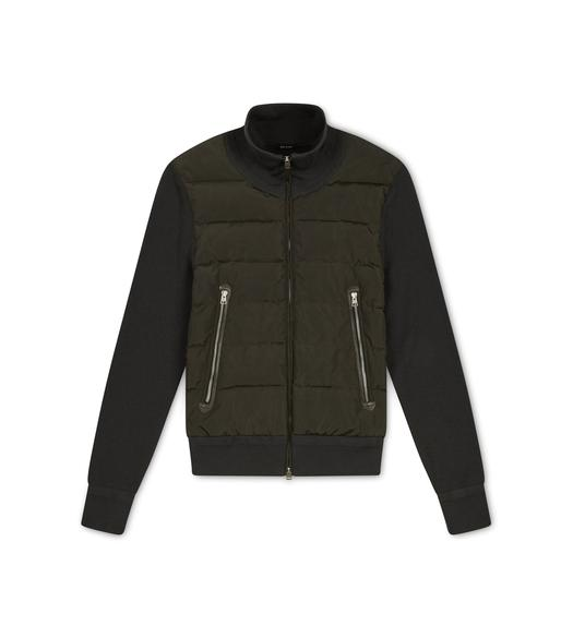 MERINO QUILTED ZIP JACKET