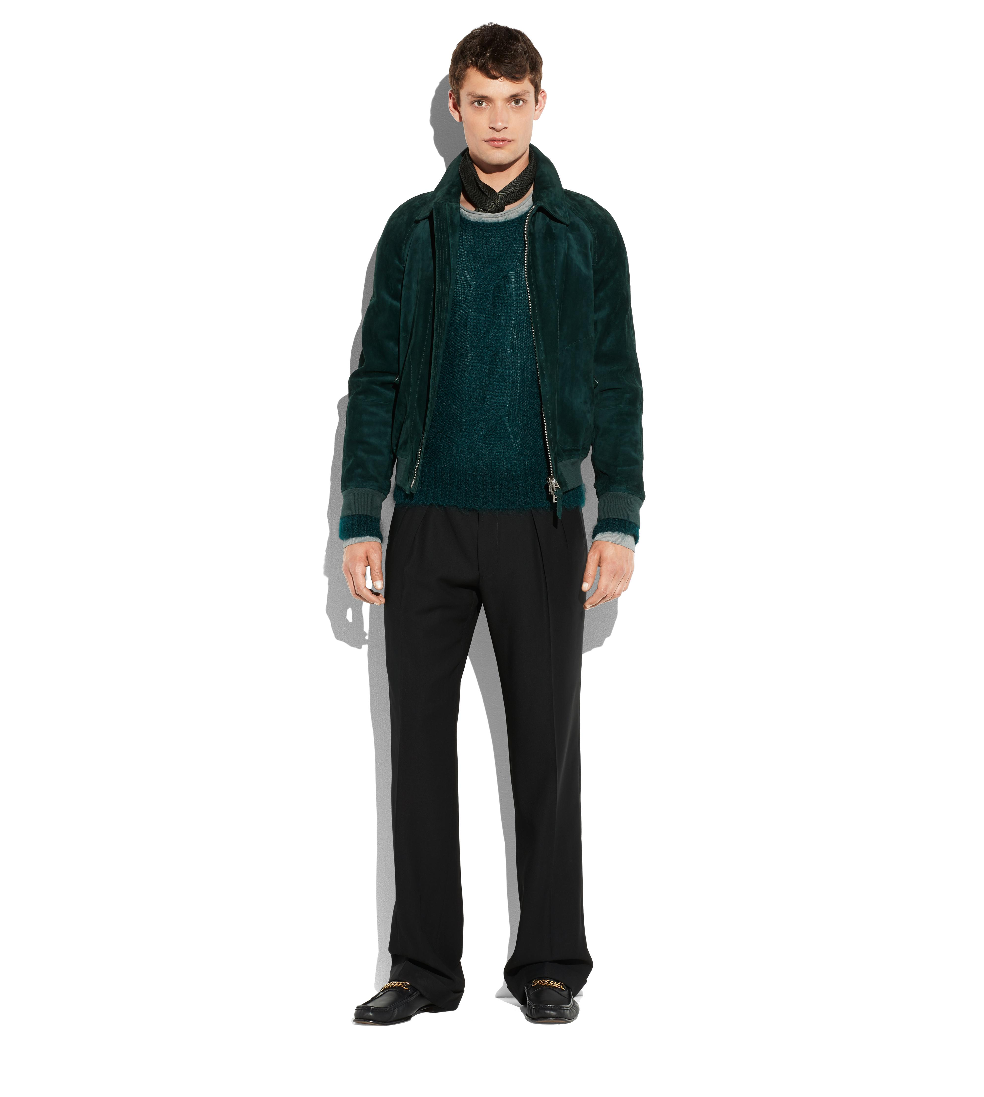 MOHAIR CABLE KNIT PULLOVER B thumbnail