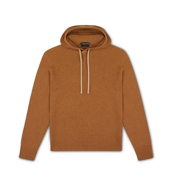 SEAMLESS CASHMERE HOODIE A fullsize
