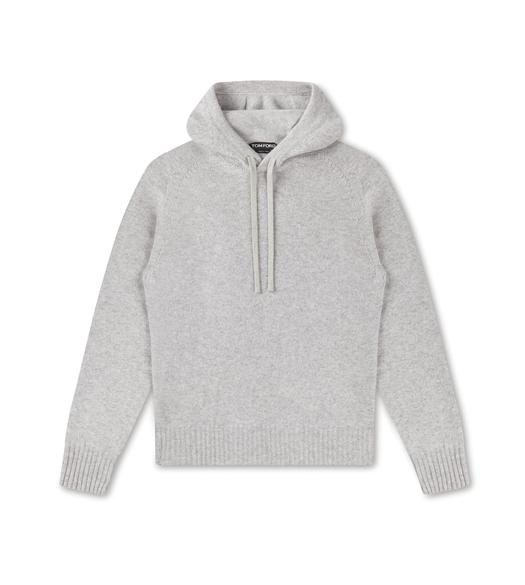 SEAMLESS CASHMERE HOODIE