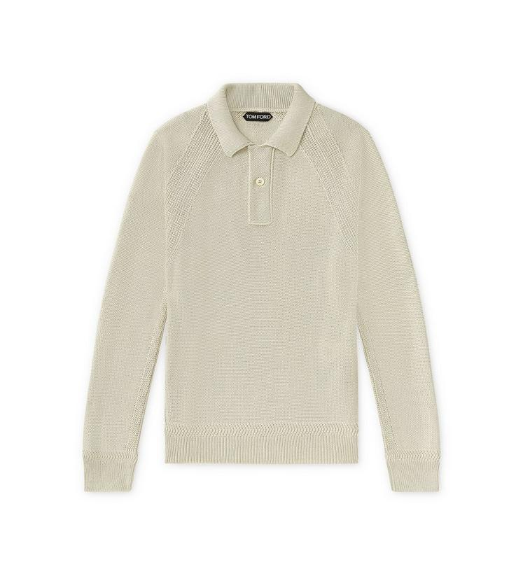WILD SILK LONG-SLEEVED POLO A fullsize