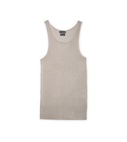 9210817222 RIBBED VISCOSE TANK TOP