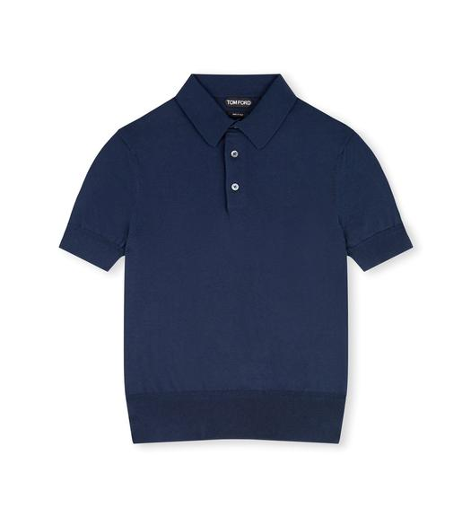 SEA ISLAND COTTON POLO SHIRT