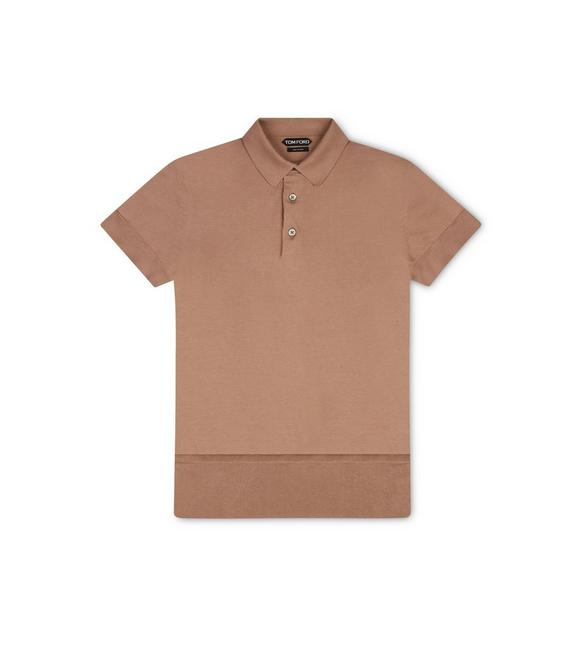 SEA ISLAND COTTON POLO A fullsize