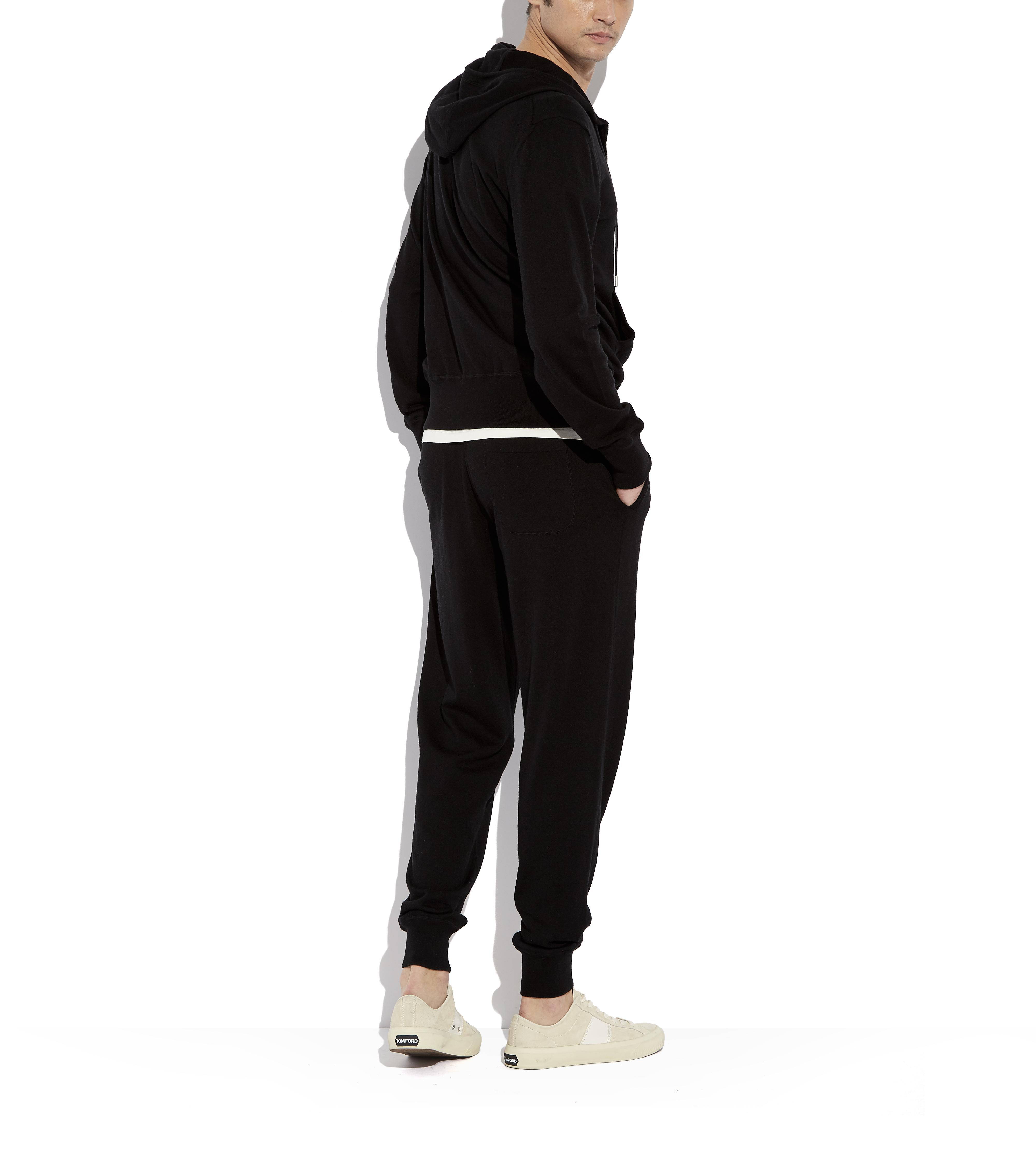 CASHMERE BLEND SWEATPANTS C thumbnail