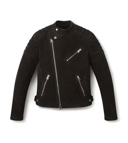 NUBUCK ICON BIKER JACKET