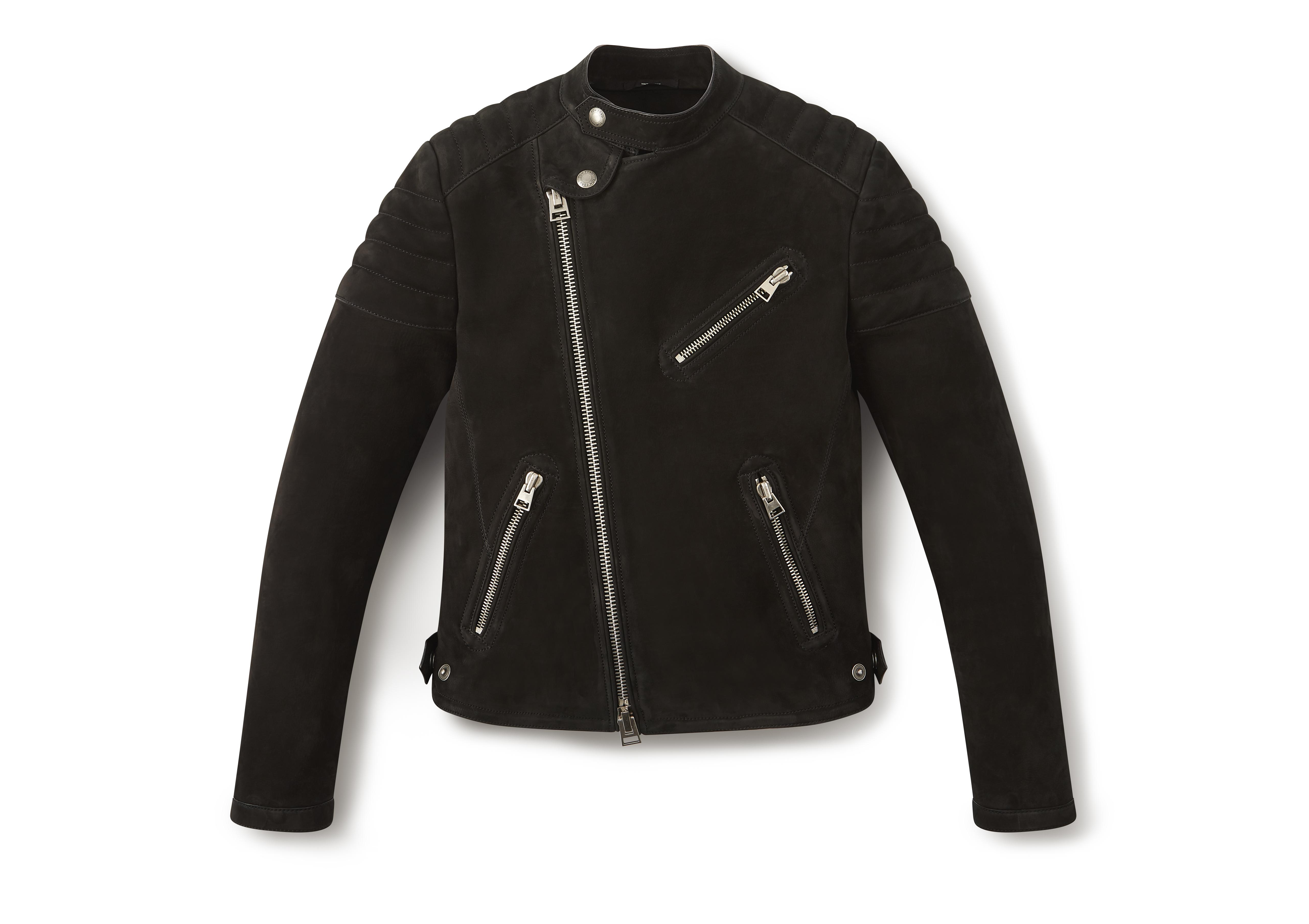 NUBUCK ICON BIKER JACKET A thumbnail