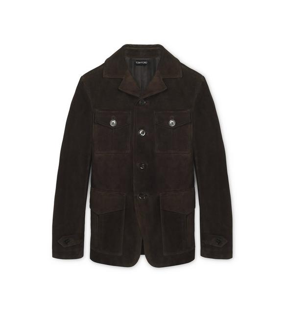 2659650c3 SUEDE MILITARY JACKET