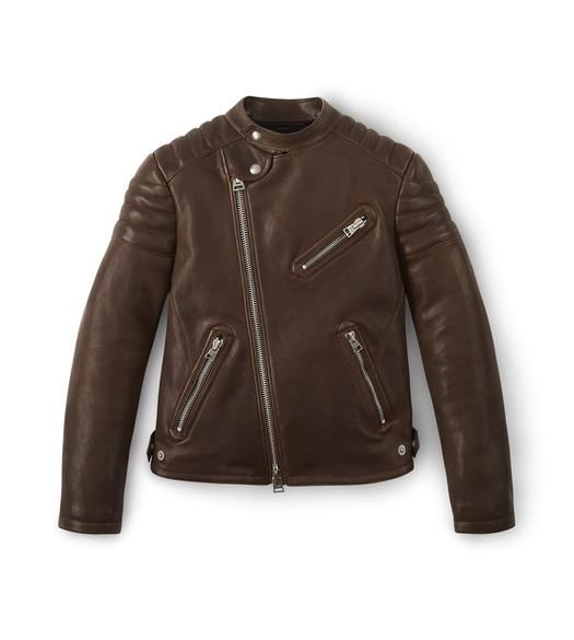 ASYMMETRIC ICON BIKER JACKET