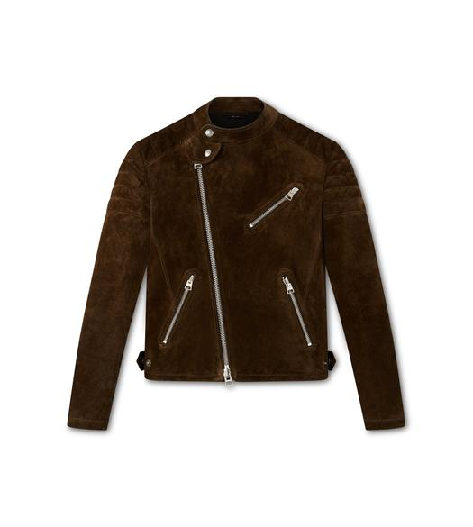 SUEDE ICON BIKER JACKET