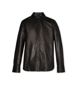 9210817255 LEATHER TAILORED SHIRT