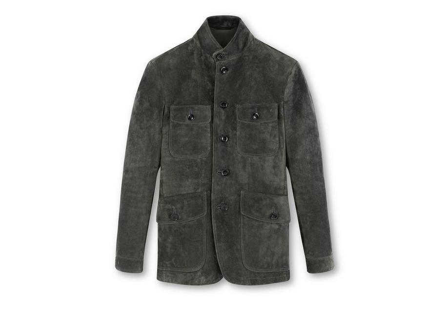 ICON SUEDE MILITARY JACKET A fullsize