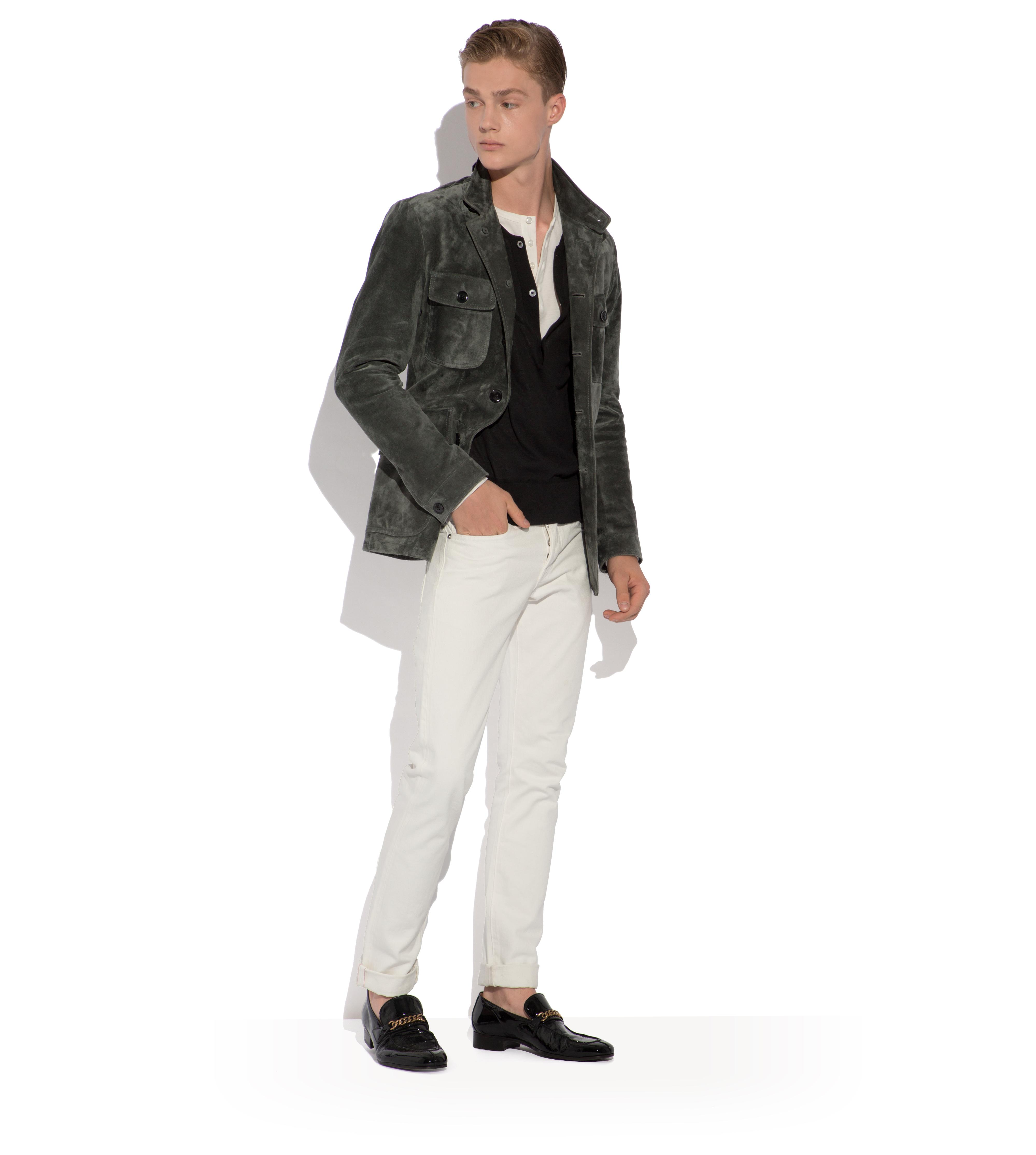 ICON SUEDE MILITARY JACKET B thumbnail