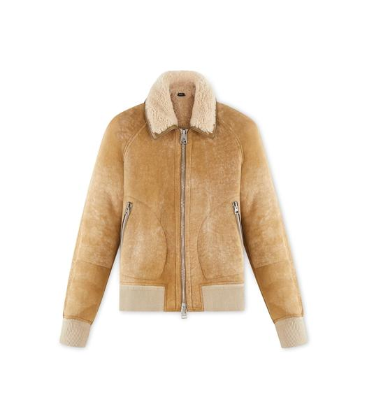 OVATTA SHEARLING JACKET