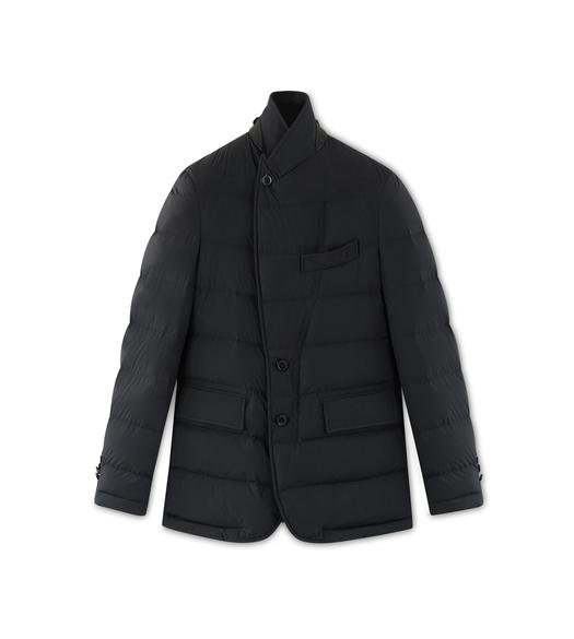 NYLON HORIZONTAL DOWN SARTORIAL JACKET