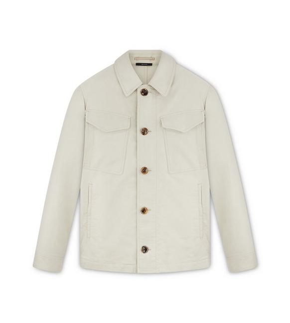 MILITARY COTTON OUTERSHIRT A fullsize