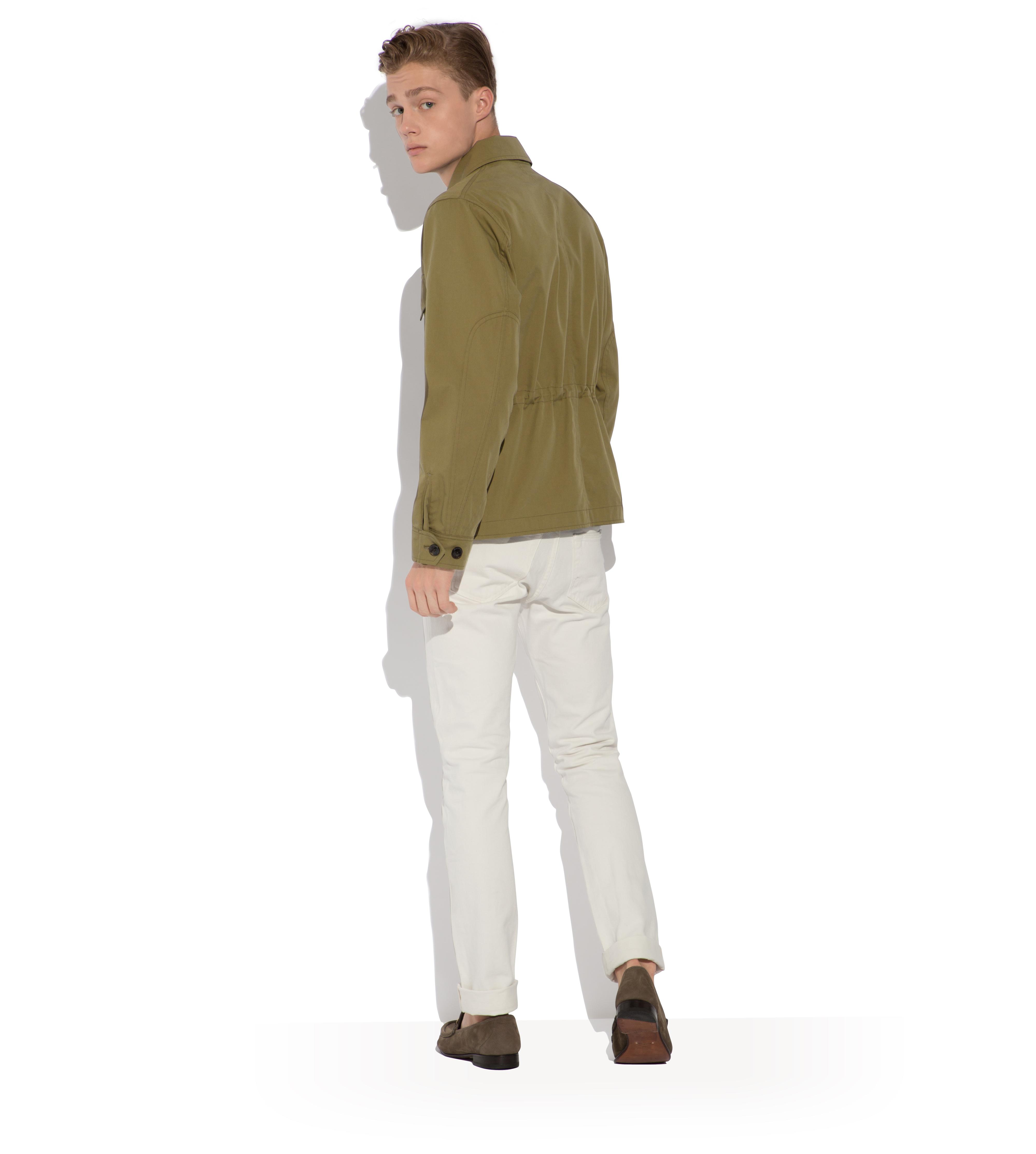 SIGNATURE COTTON ZIP OVERSHIRT C thumbnail