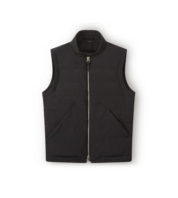 QUILTED DOWN VEST A fullsize