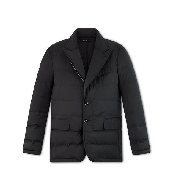 QUILTED DOWN SARTORIAL JACKET A fullsize