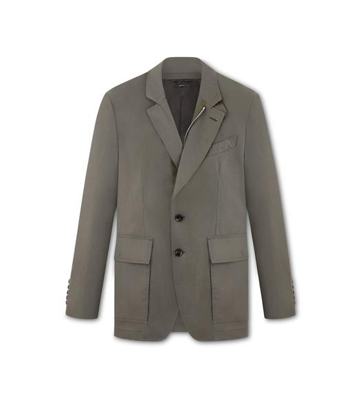TECHNICAL CANVAS SARTORIAL JACKET