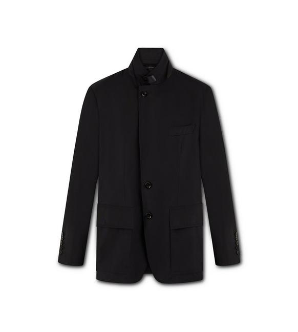 TECHNICAL CANVAS SARTORIAL JACKET A fullsize