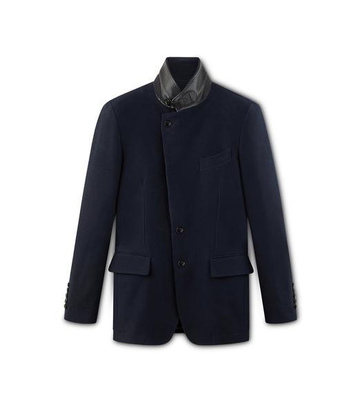 COTTON MOLESKIN SARTORIAL JACKET