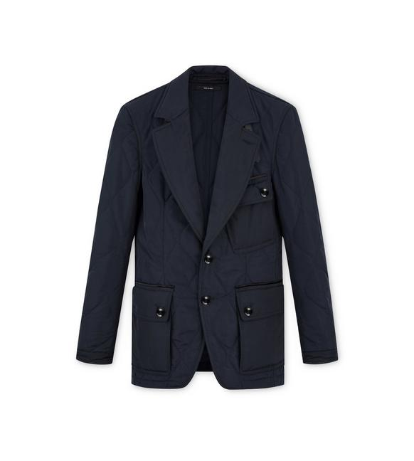 QUILTED SARTORIAL JACKET A fullsize