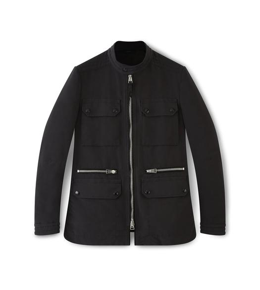 FAILLE ZIP MOTORCYCLE JACKET