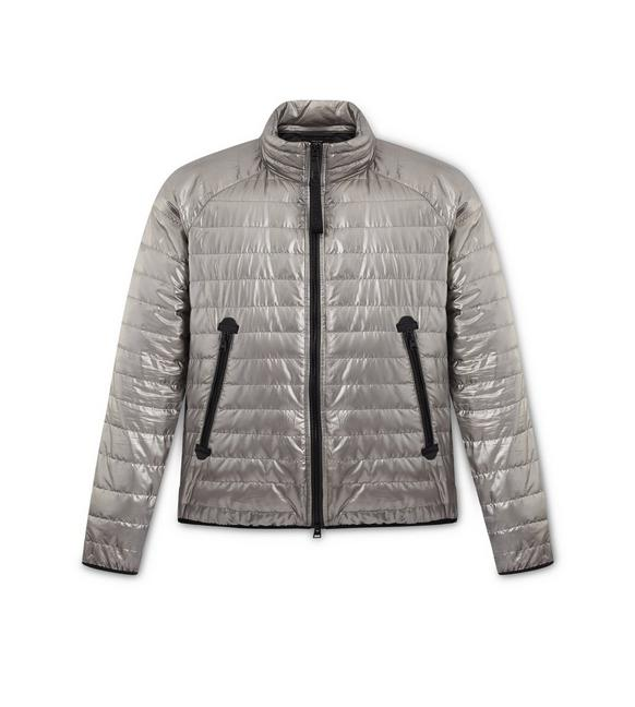 METALLIC DOWN JACKET A fullsize