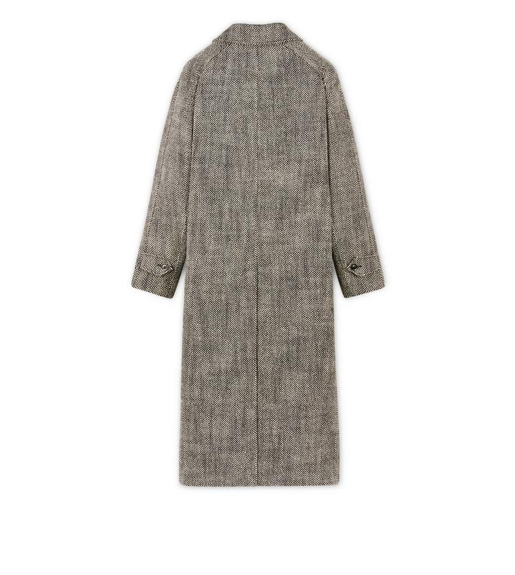 LONG HERRINGBONE COAT B fullsize