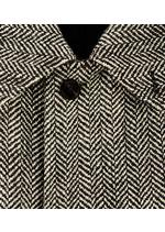 LONG HERRINGBONE COAT C thumbnail