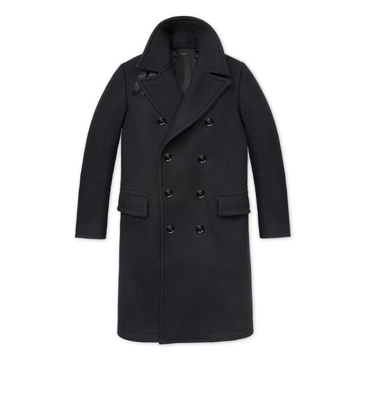 JAPANESE MELTON LONG PEACOAT