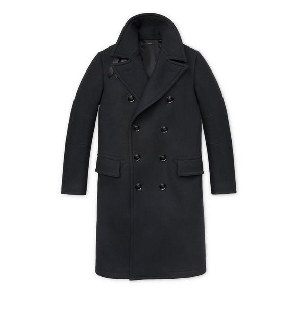 JAPANESE MELTON LONG PEACOAT A fullsize