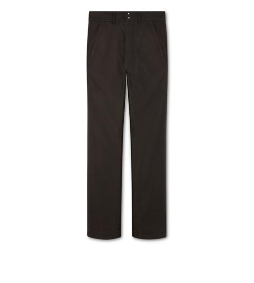 COTTON CINCH BACK SPORT PANTS