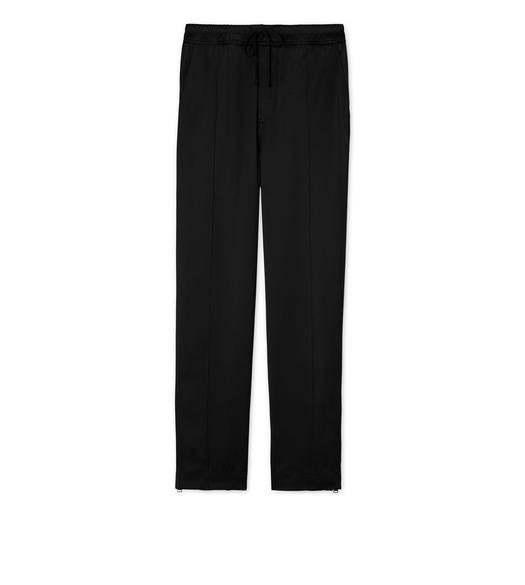 VISCOSE WIDE HEM JOGGER SPORT PANTS