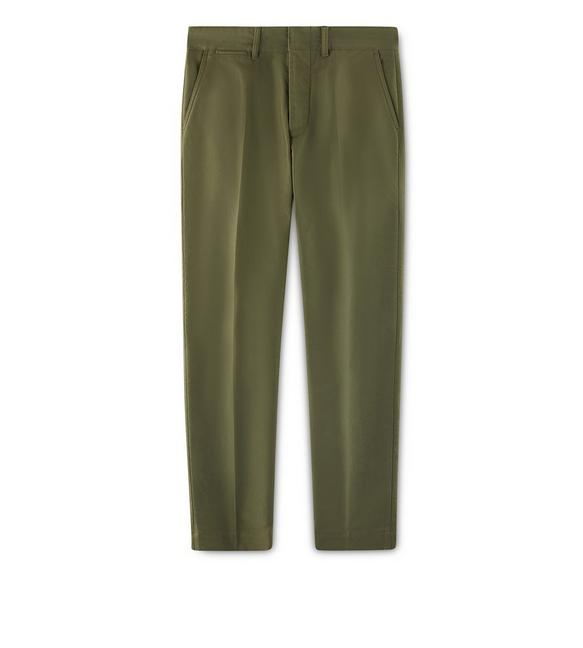 MILITARY COTTON CHINO SPORT PANTS A fullsize