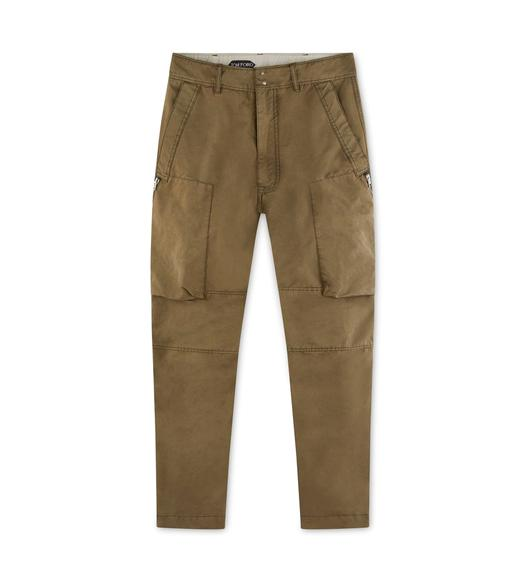 GARMENT WASHED CARGO PANTS