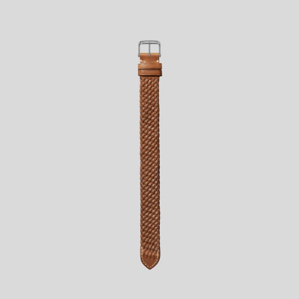 BRAIDED LEATHER STRAP