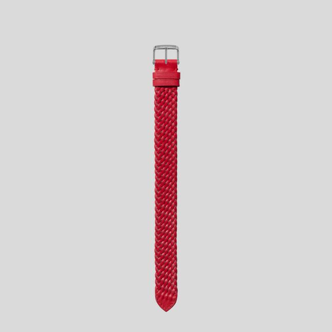 BRAIDED LEATHER STRAP A fullsize