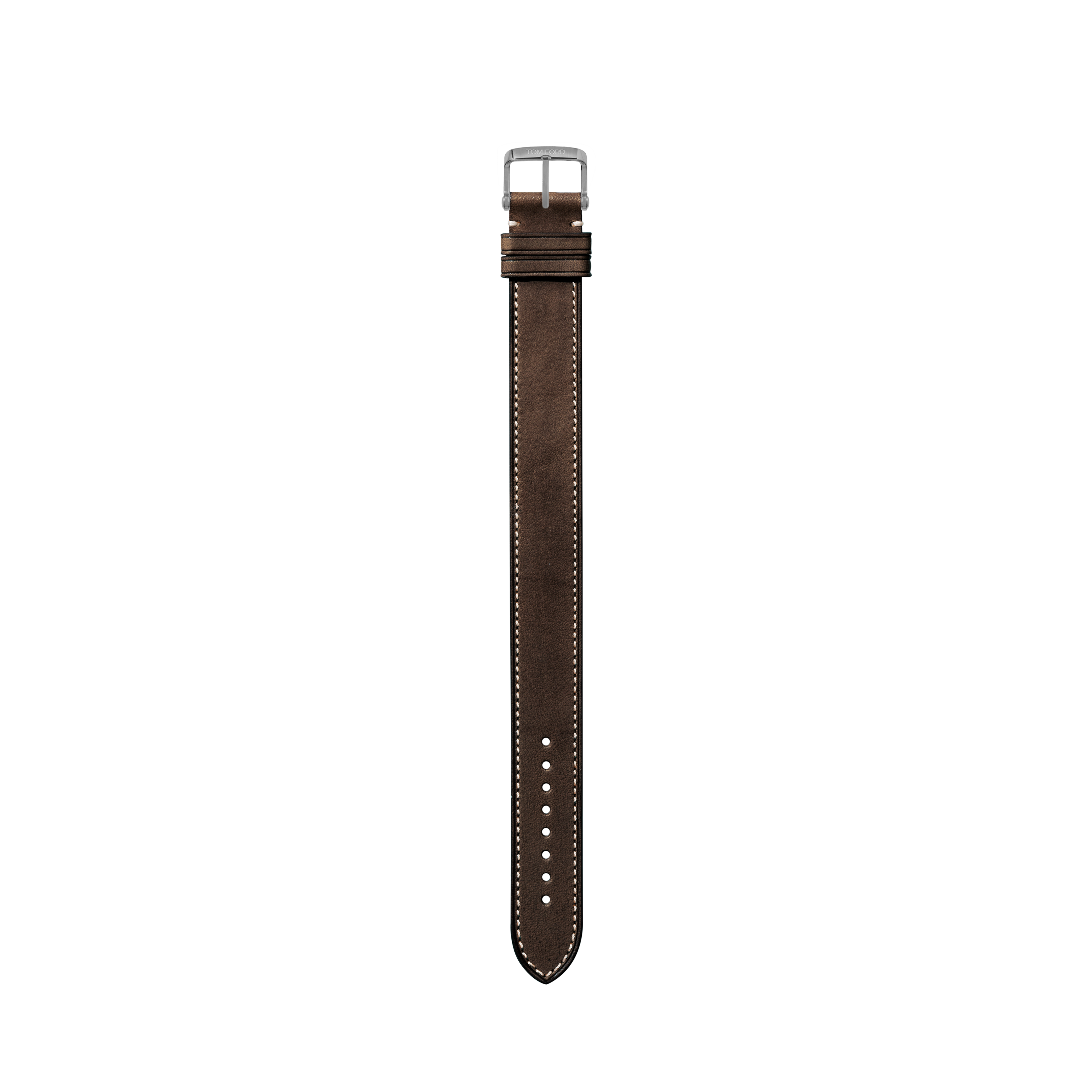 STITCHED LEATHER STRAP