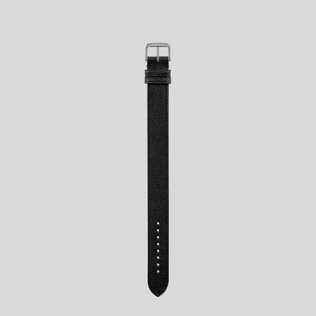 PEBBLE GRAIN LEATHER STRAP A fullsize