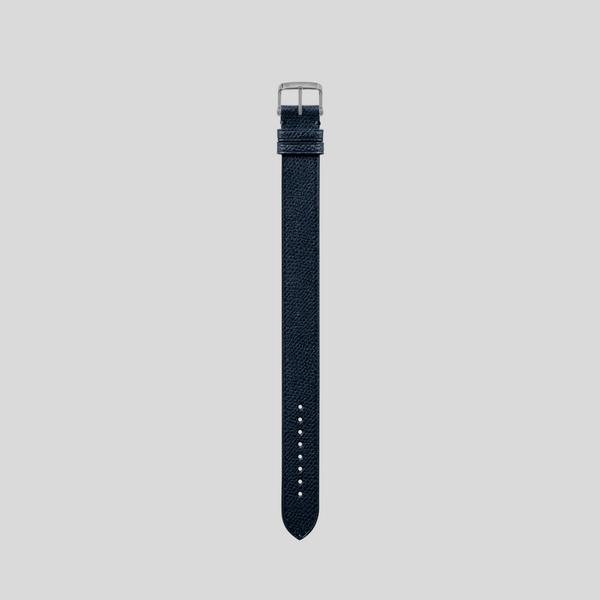PEBBLE GRAIN LEATHER STRAP