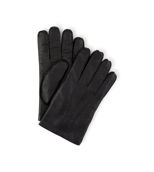 NAPPA LEATHER GLOVES WITH CASHMERE LINING