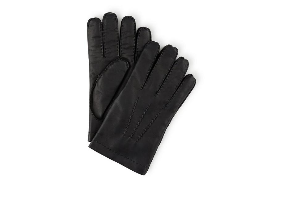 NAPPA LEATHER GLOVES WITH CASHMERE LINING A fullsize