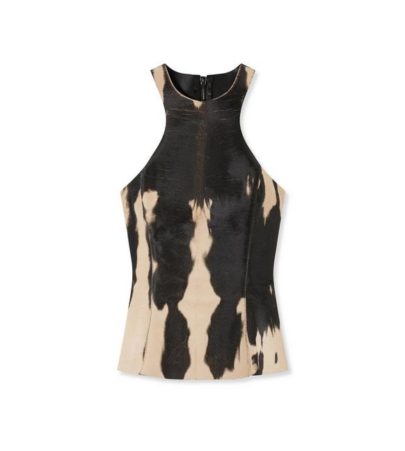 ANIMAL PRINTED RACERBACK TOP A fullsize