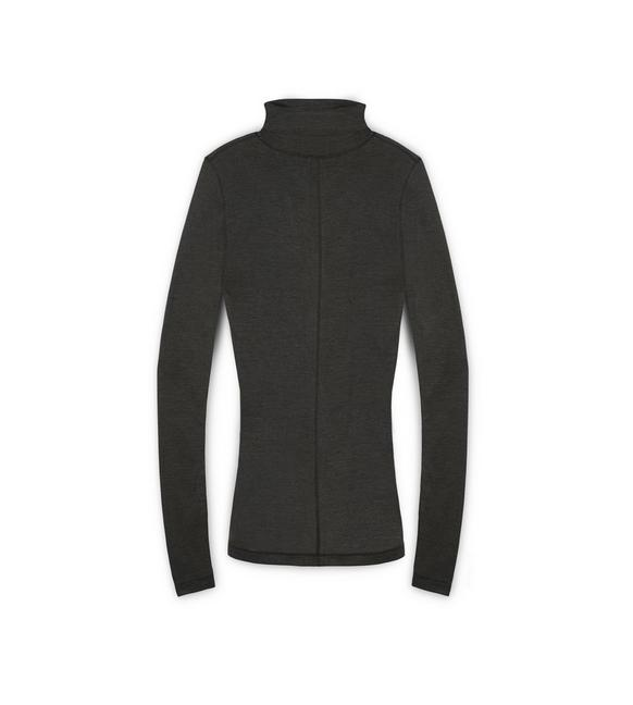 Long Sleeve Turtleneck by Tom Ford, available on tomford.com for $640 Kendall Jenner Top Exact Product