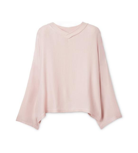 VISCOSE OVERSIZED TOP A fullsize