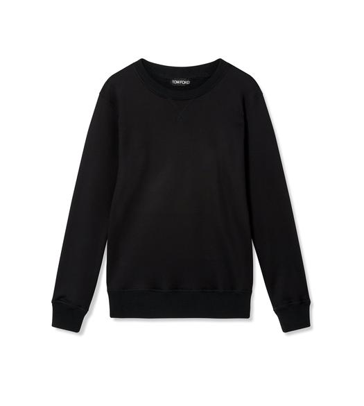 SILK TERRY SWEATSHIRT