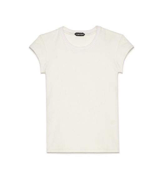 TOWELLING JERSEY T-SHIRT